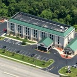 Sealcoat & Line Stripping, Hampton Inn, Groton CT
