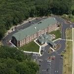 Sealcoating New Asphalt, Hilton Garden Inn, Groton, CT