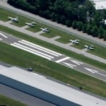 Chester CT Airport Crack Filling and Line Striping Project