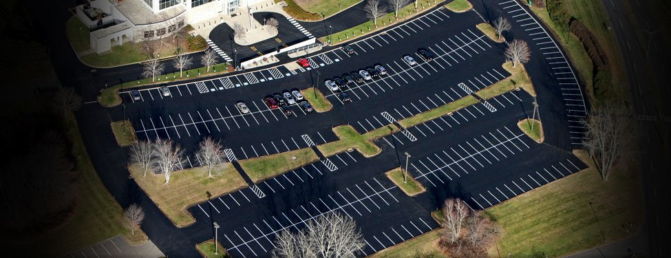 New Pavement, Aerial Photo, Enfield CT
