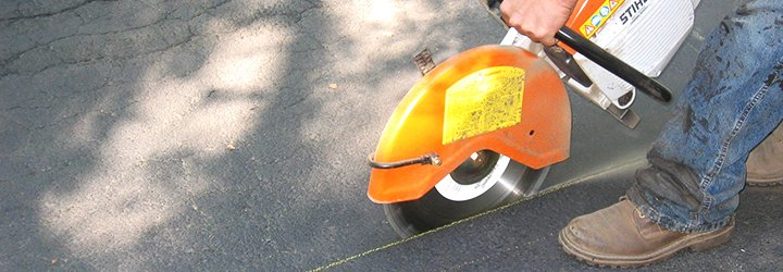 Parking lot paving and repair services