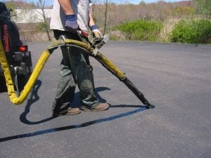 crack filling helps reduce pavement deterioration