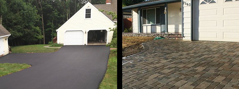 Concrete Pavers vs. Asphalt Paving