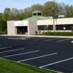 North Haven CT Sealcoating Line Striping at Connex Credit Union