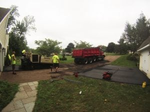repaving for asphalt repair