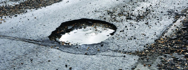 Asphalt Pothole Repair: Potholes Explained