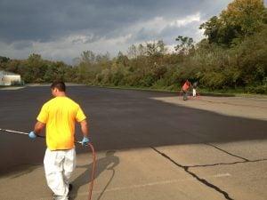 driveway repair, sealcoating for asphalt driveway