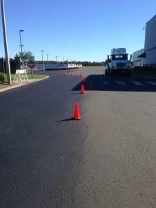 heavy loads affect on pavement