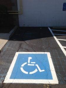 ADA regulations for parking lots