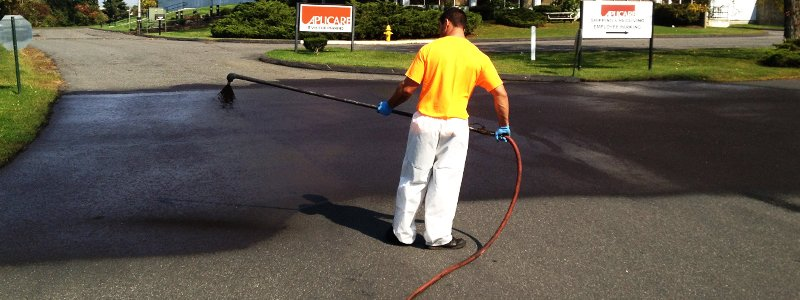 asphalt sealcoating protects from sun damage