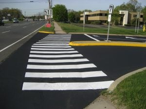 parking lot striping traffic controls and pavement markings