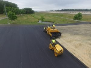 can I install asphalt over concrete?