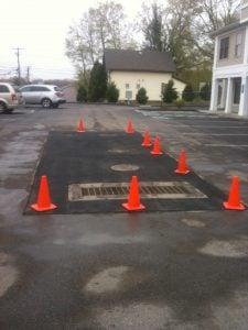 driveway drainage asphalt drainage parking lot drainage