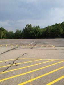 what can distress asphalt