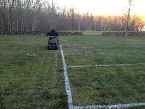 football field paint