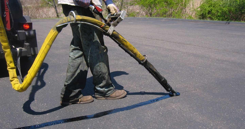 asphalt crack filler machine hot mix asphalt